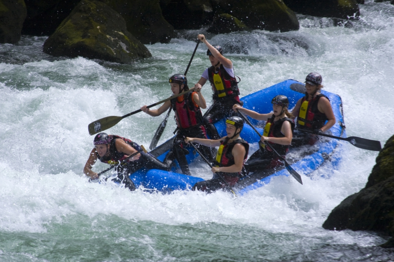 Whitewater rafting in Steamboat Springs