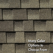 Timberline HD® Roofing Shingles from roof repair company in Denver Planet Roofing