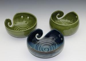 Grouping of yarn bowls