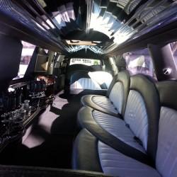 Interior of Limousine