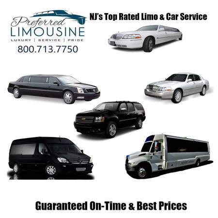 Our fleet of Limo for Lacey and Forked River