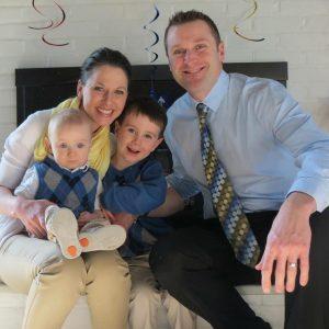 Dr. Reinhart's chiropractic family