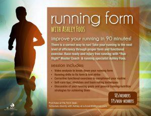 Running Form Ashley F