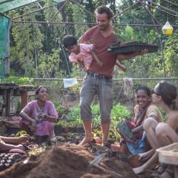 Join the Samata Goa family in our yoga resort's garden! Learn more!