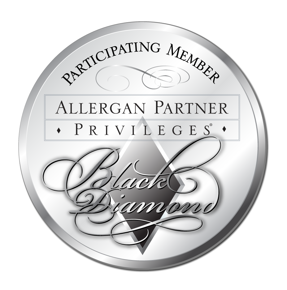 Skin Rejuvenation Clinic has earned Black Diamond status with Allergan