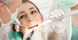 Don't settle - get our dental care today!