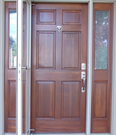 Front Door Refinishing Refinish Wood Door Wood Door Restoration Summit Wood Door Refinishing