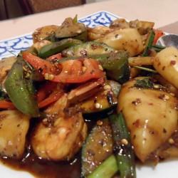Thai Food with Shrimp