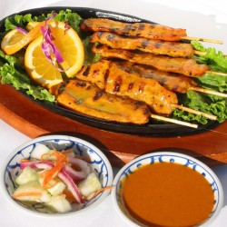 Thai Dishes Chicken Sa-Tay