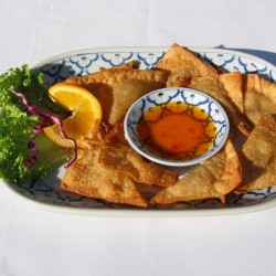 Thai Dishes Fried Wontons