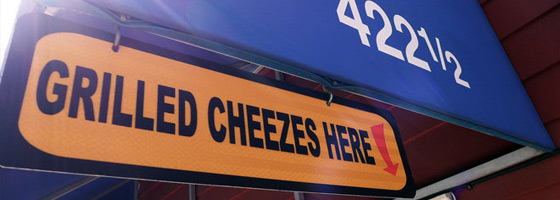 Don't miss out on the best grilled cheese in the world. Visit today!