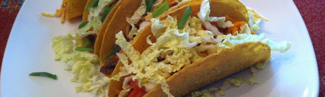 Twist on Thai food tacos