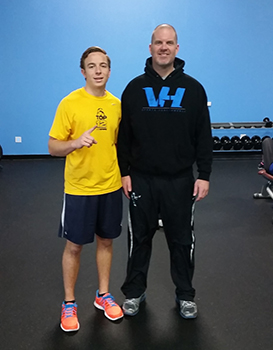 Ryan Farr embodies excellence with our personal training.