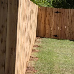 Our cedar fencing looks great and performs!