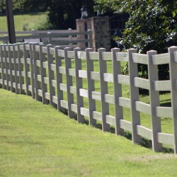 Vinyl fencing installation is as easy as calling VanHoose!