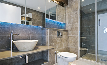 Get that perfect bathroom no matter what its size. Contact VIP today.