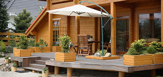 Enjoy the Boston outdoors more than ever when you hire us as your deck contractors.
