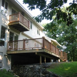 If you want a deck that will impress, call the deck builders who have done it all.