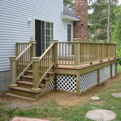 It doesn't matter whether you need a deck for a large pool or a small hot tub…VIP Home Remodeling is the right deck contractor to call.