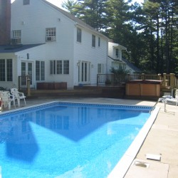 When you need a deck contractor who can improve your pool area, call VIP.