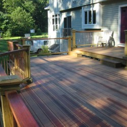 Get the beautiful deck you've always wanted when you hire VIP as your deck contractors.