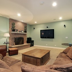 Cozy up in your new space with the best in basement renovations.