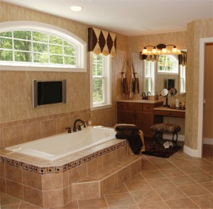 Make your tub a sanctuary with professional bathroom remodeling.