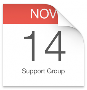support group november 14th