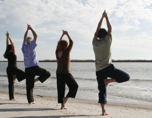 how to learn yoga in wilmington