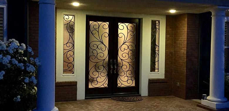 Decorative Glass For Doors Temecula